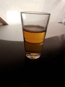 Voor het eerst bier in mijn handen gehad. Natuurlijk wel 0% ;). Gelukkig hoefde je het ook niet te drinken